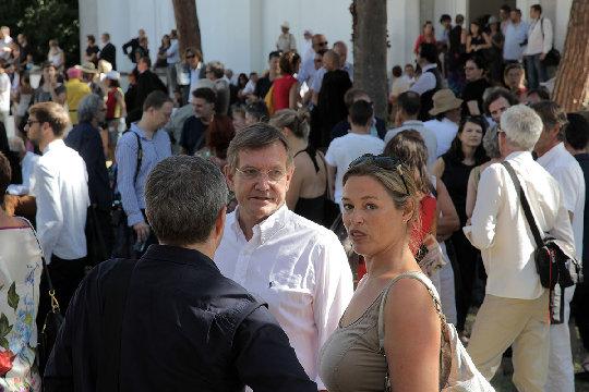 Opening Austrian Pavilion 2012 © Günter Wett   1/14