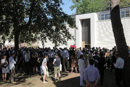 Opening of the Austrian Pavilion 2012 © Günter Wett   4/14